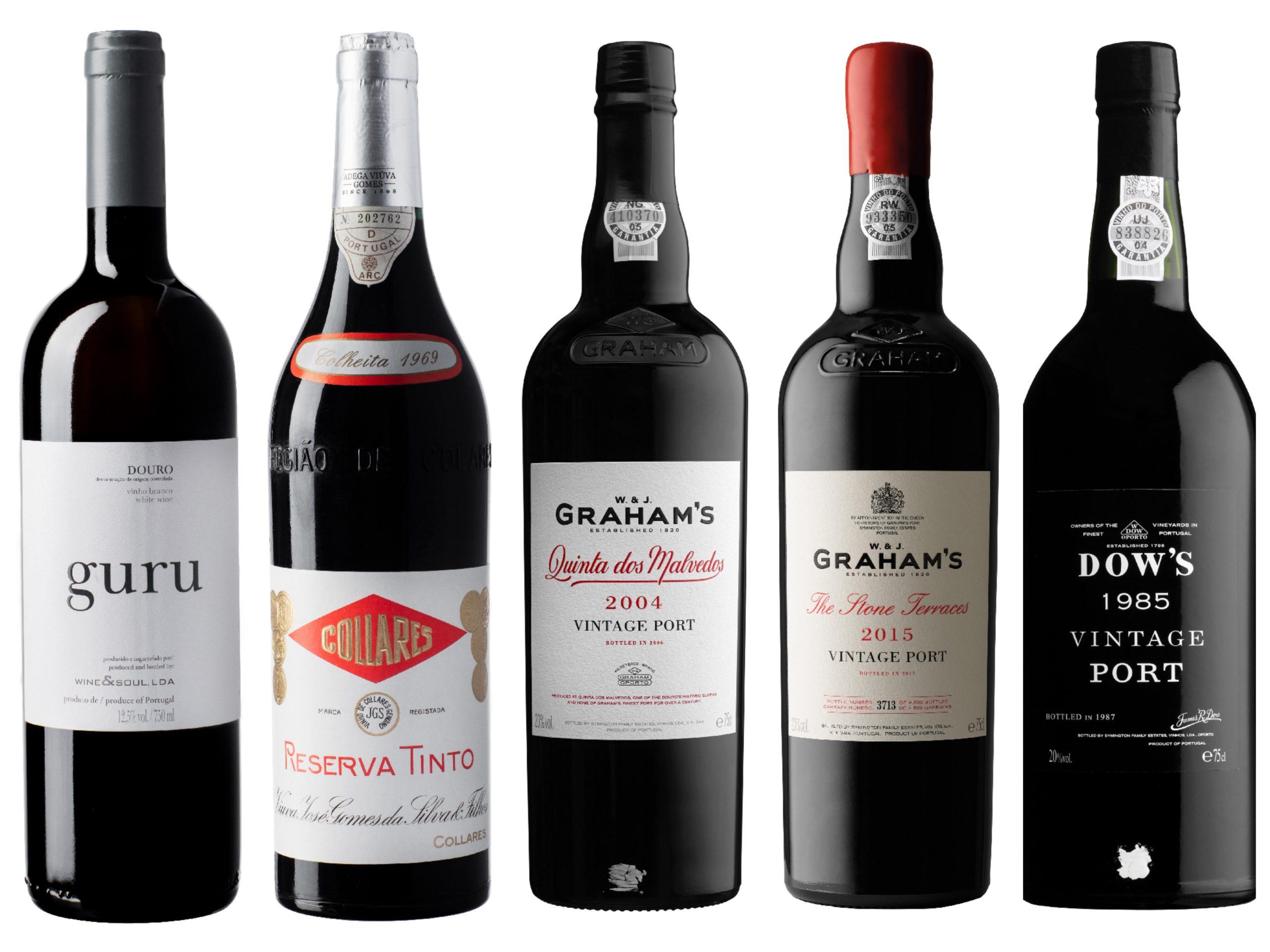 Portvin og tørre viner fra Portugal