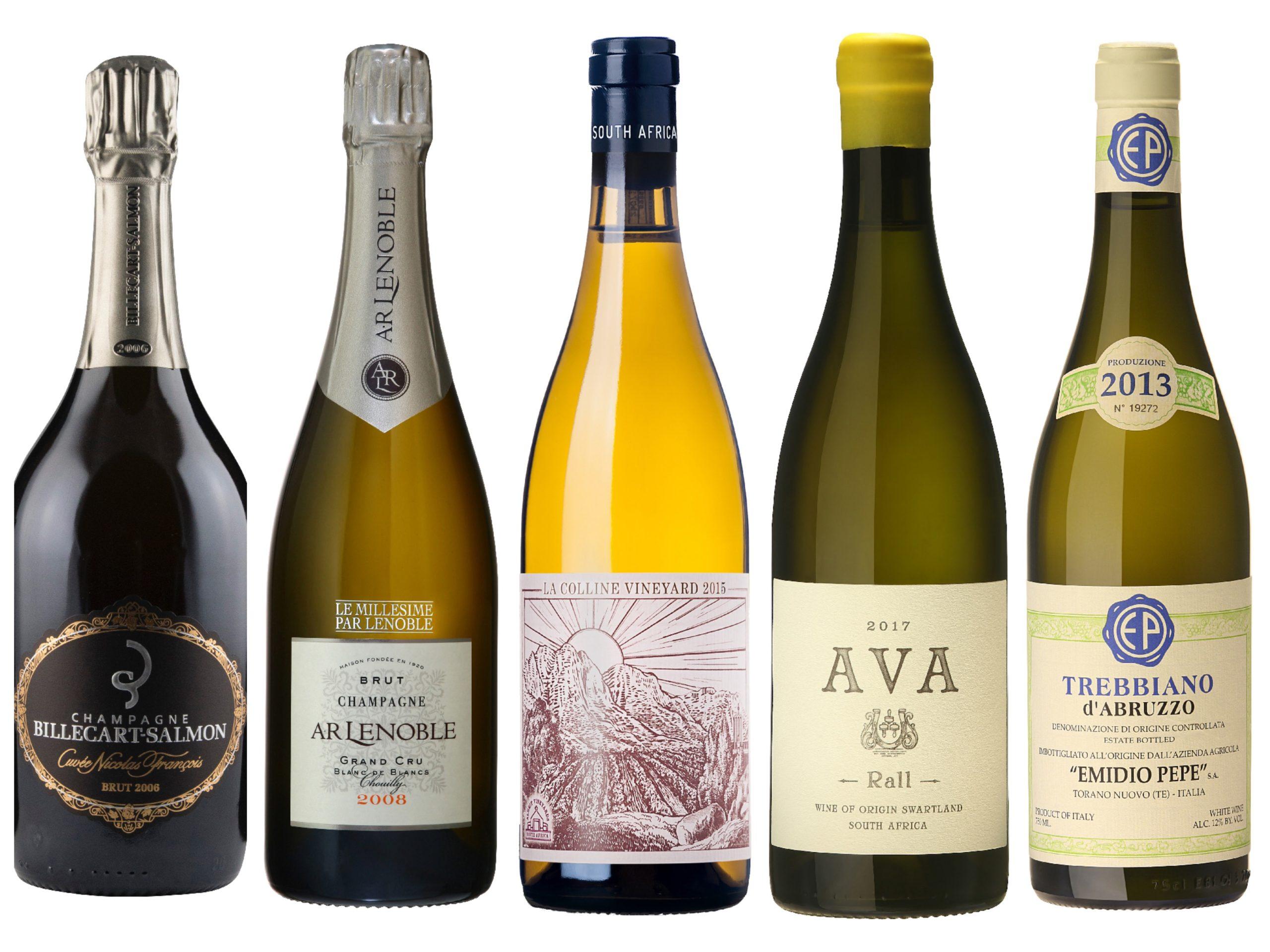 Nyheter på bestillingsutvalget – november 2018 – musserende og hvite viner