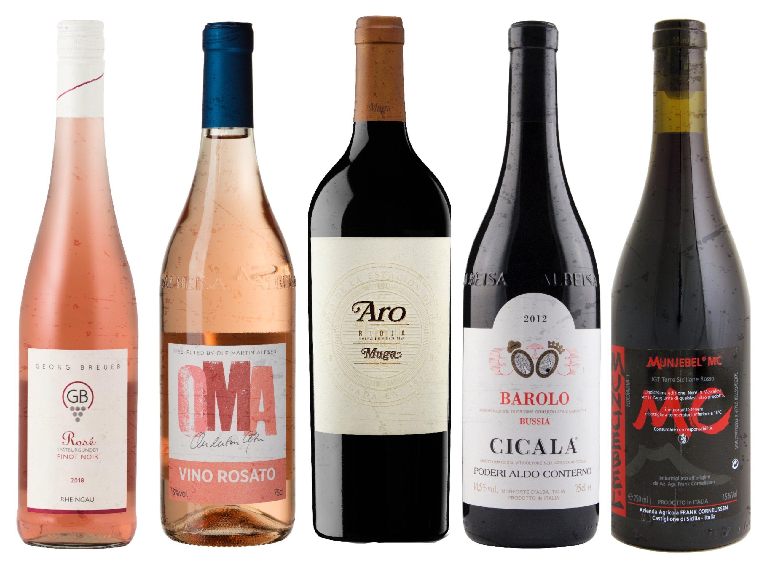 Nyhetslansering på bestillingsutvalget mai 2019 – Rose og røde viner