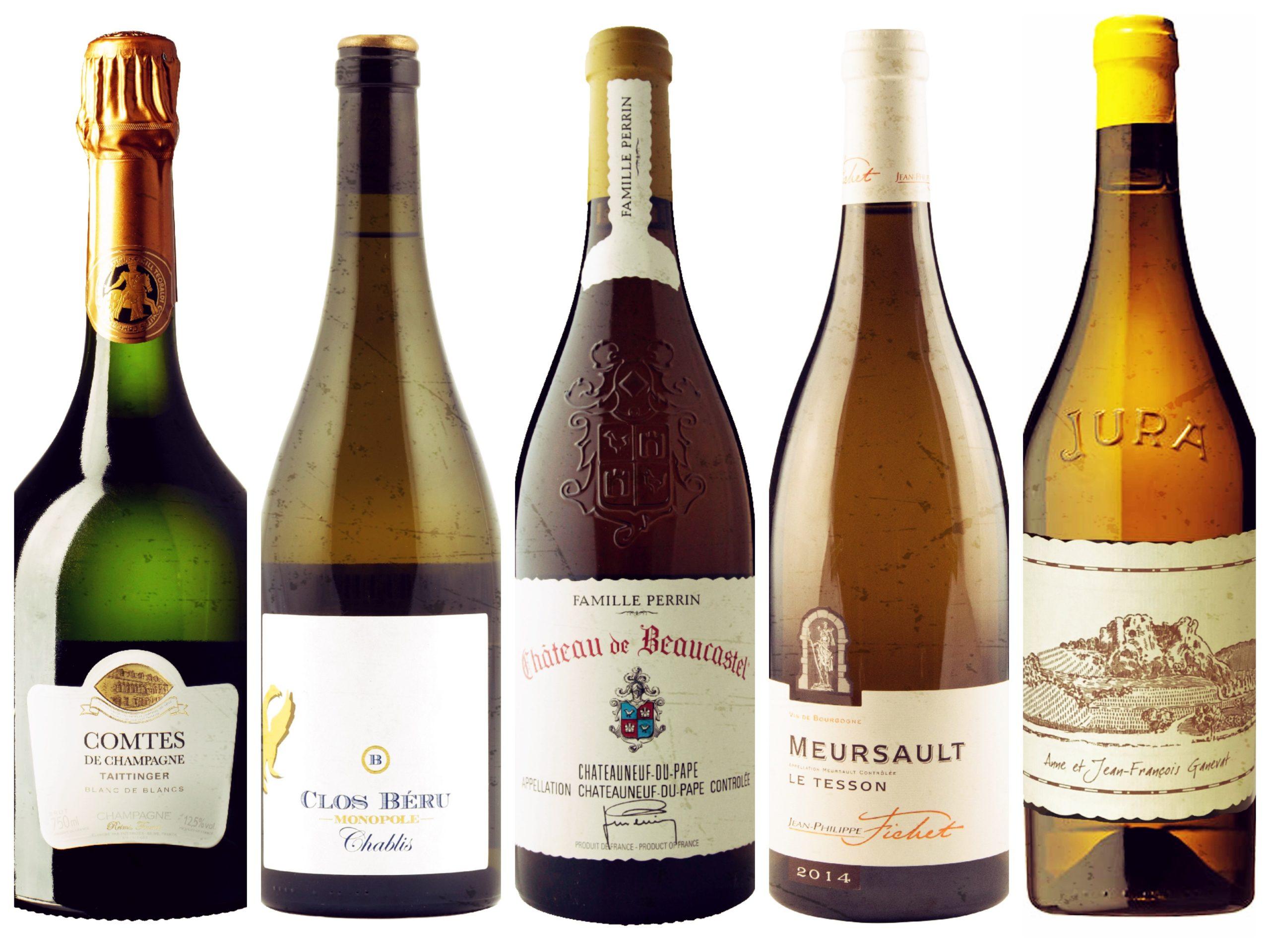 Nyhetslansering på bestillingsutvalget mai 2019 – musserende og hvite viner