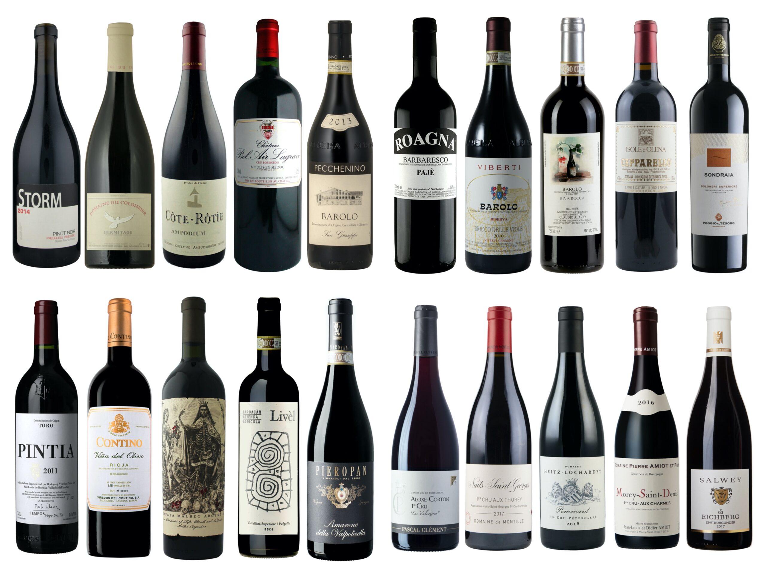 Vintips – Røde viner – 500 til 1000 kroner