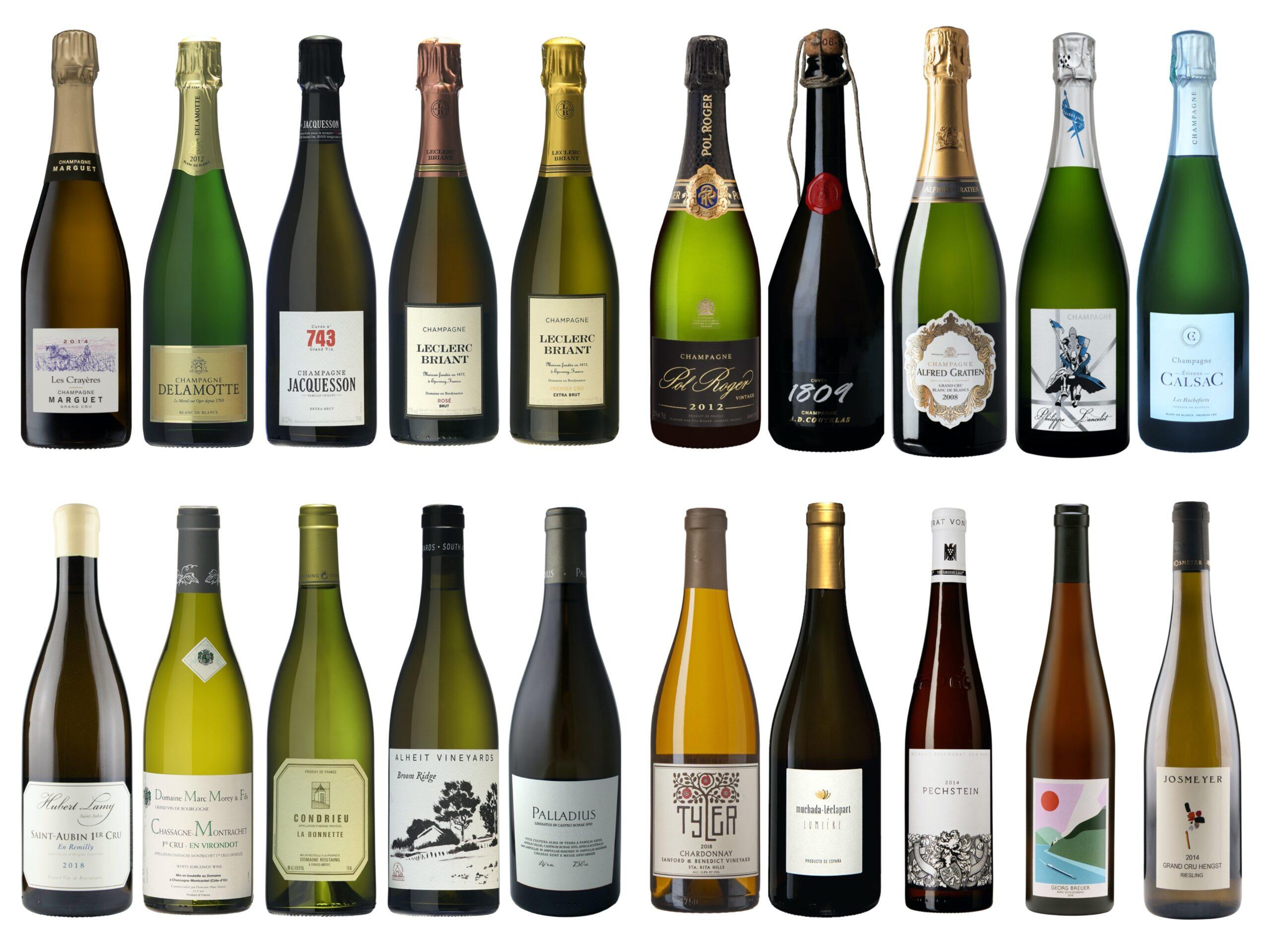 Vintips – Hvite og musserende viner – 500 til 1000 kroner