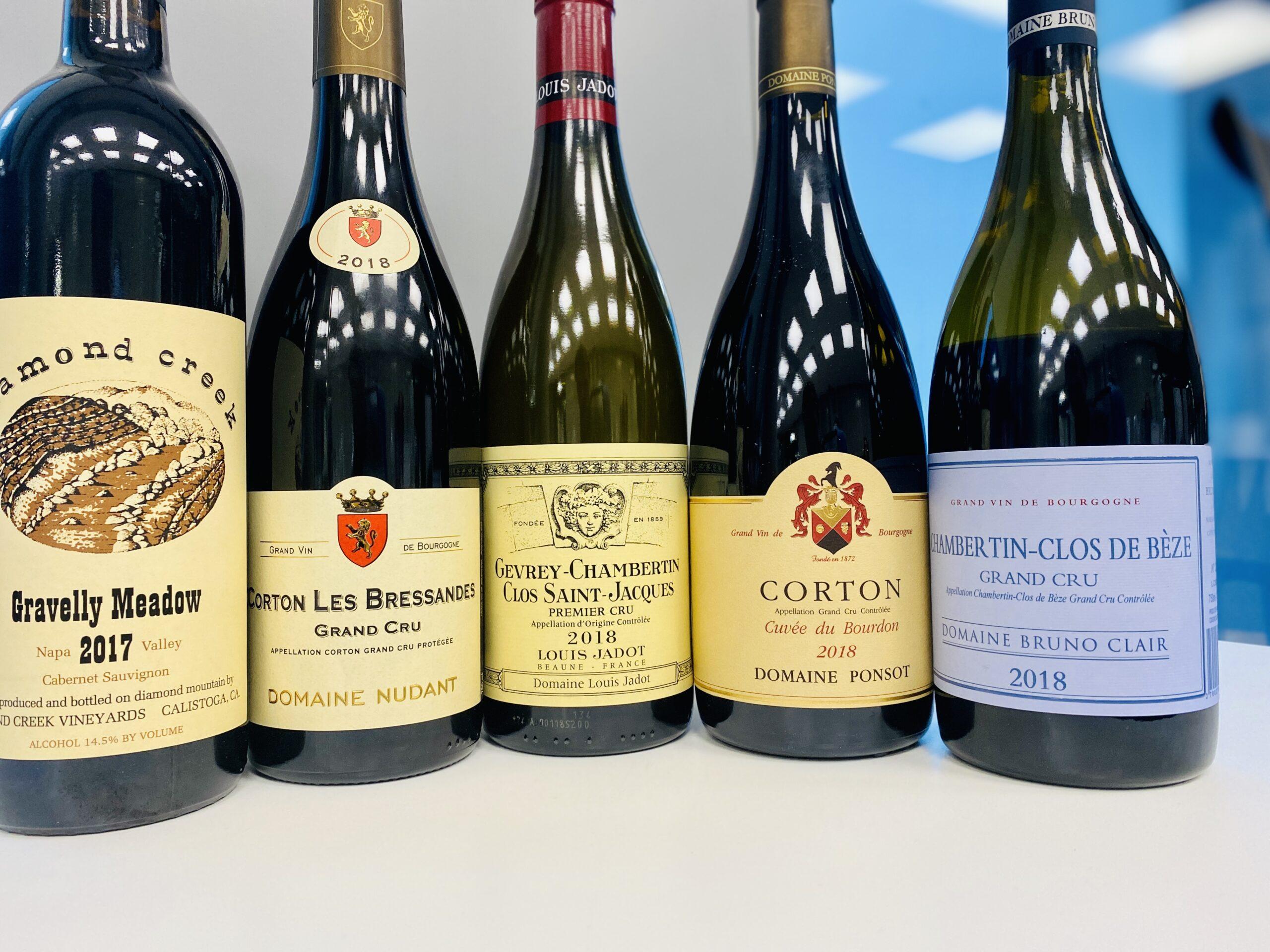 Spesiallansering viner fra Burgund – 2018 årgangen
