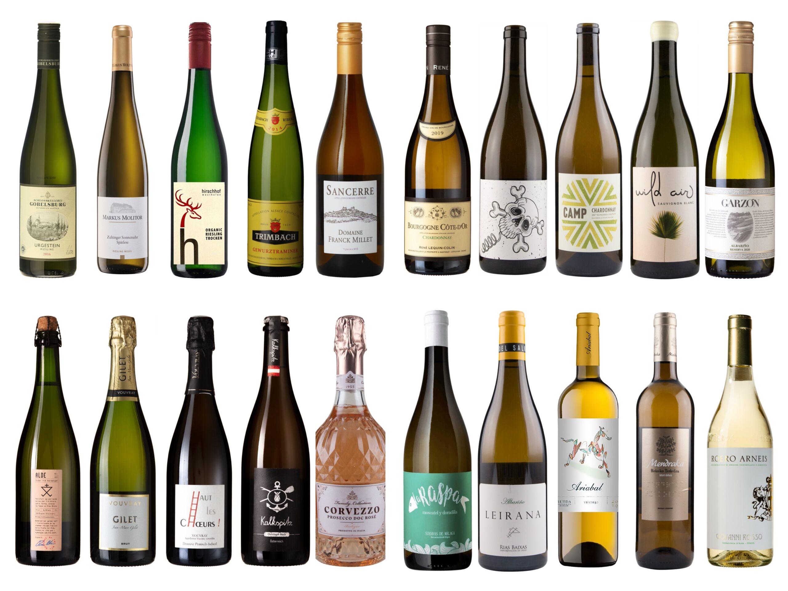 Vintips – Musserende og hvite viner – Opp til 250 kroner