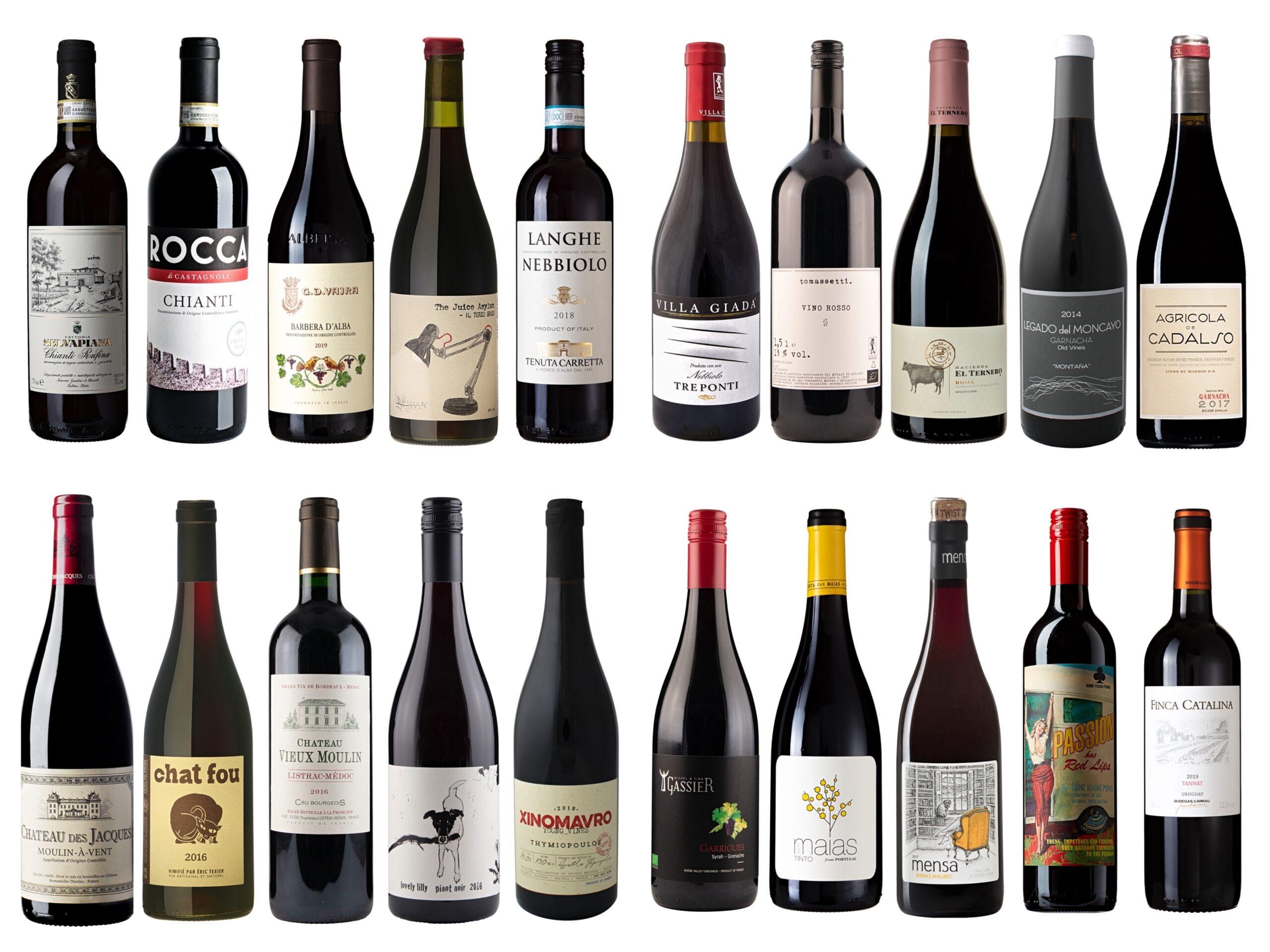 Vintips – Røde viner – Opp til 250 kroner