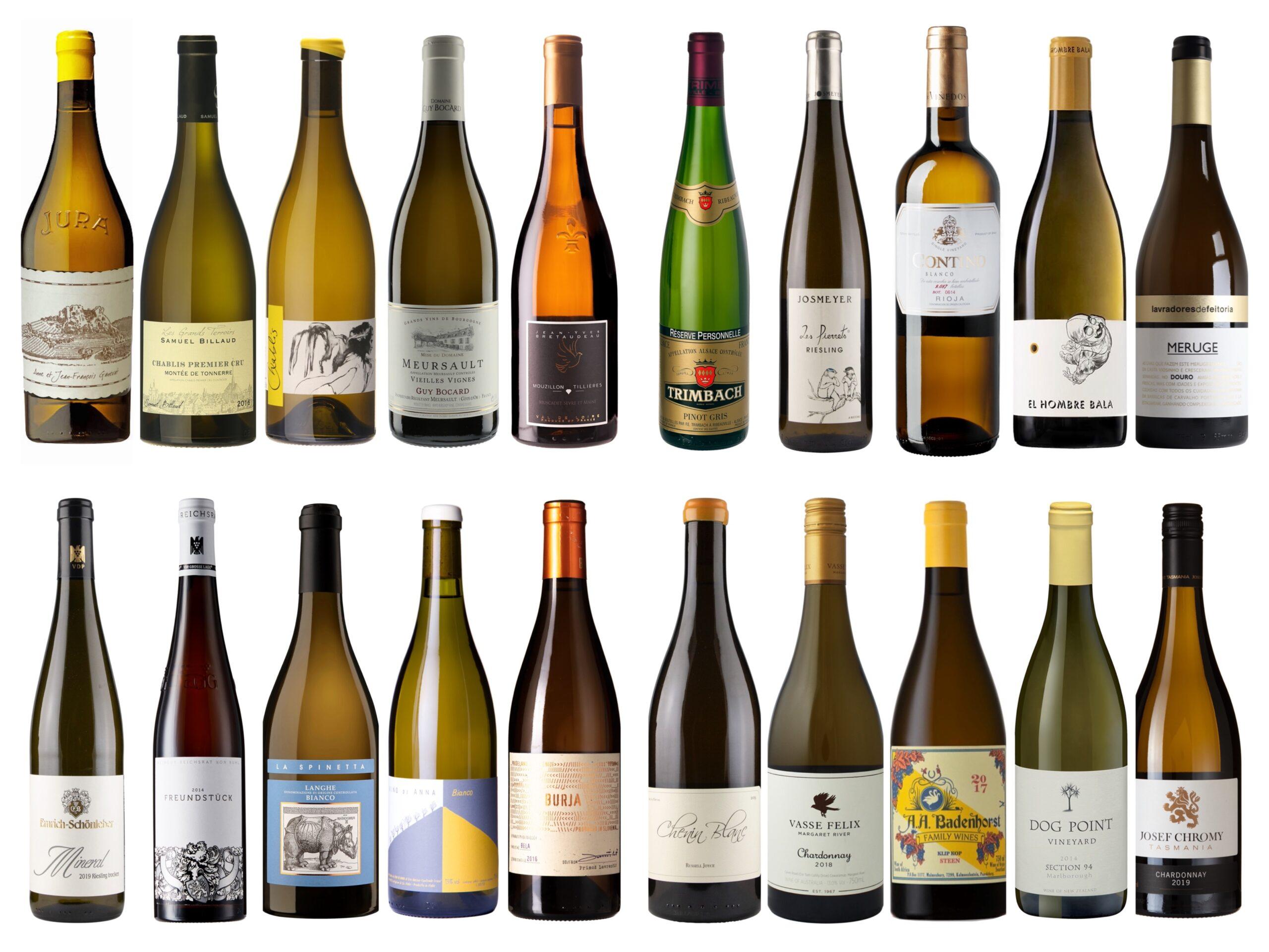 Vintips – Hvite viner – 250 – 500 kroner – Sommer 2021