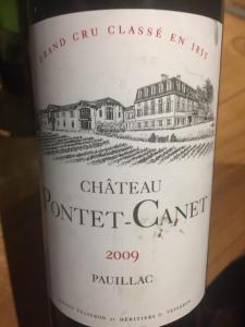 Ch.Pontet Canet